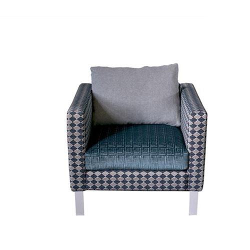 Butaca hecha a medida con tela Designers Guild ideal para decorar habitaciones, recibidores o comedores