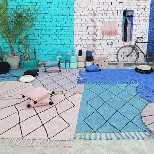 Alfombras y complementos de decoración 100% lavable a la lavadora