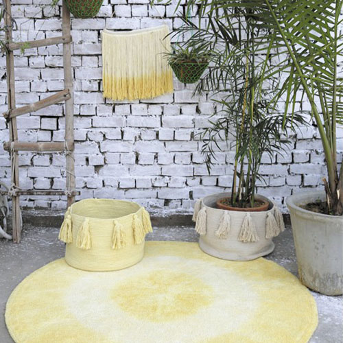 Cestas tassels Lorena Canals para guardar objetos