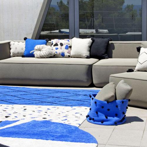 Alfombras y cojines para terrazas en Reus