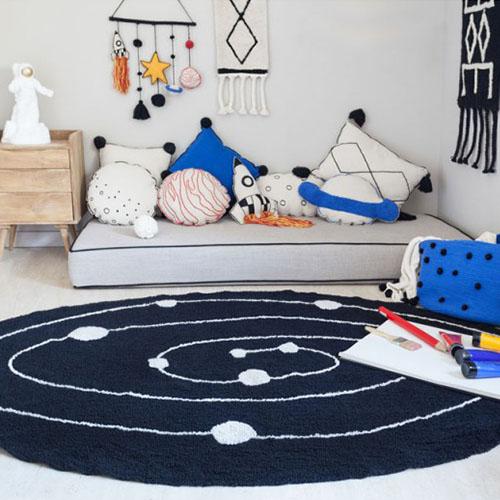 Cojines para habitaciones de niños y juveniles 100% lavable a la labadora