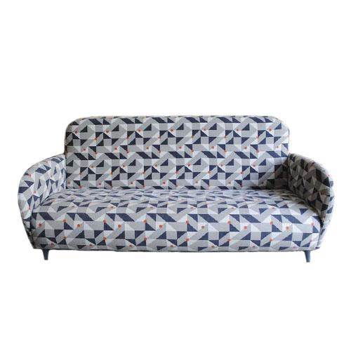 Sofá estilo vintage redondo y pequeño para decoración de recibidores o salitas